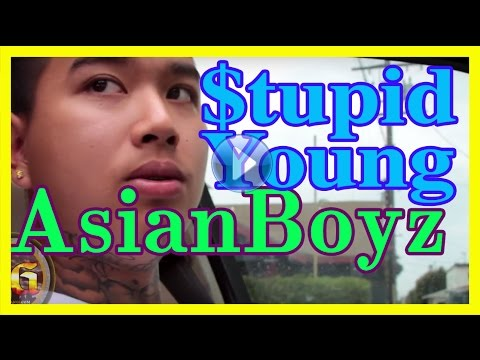 $tupid Young from Eastside Long Beach, Asian Boyz, rap artist
