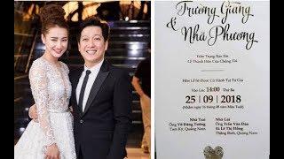 Download Video Choáng với y/c khắt khe dành cho khách mời lễ cưới Trường Giang - Nhã Phương MP3 3GP MP4