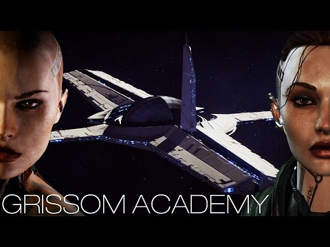 Mass Effect 3 - Grissom Academy (All Characters/Dialogue)