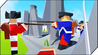 САБЛЯ ПРОТИВ МУШКЕТА - Игра Rise of Liberty НОВАЯ БИТВА СОЛДАТИКОВ