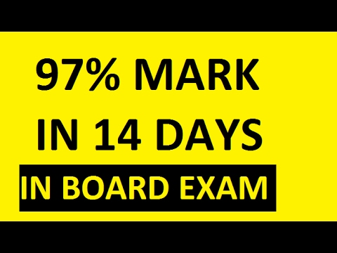 MARKS IN BOARD EXAM | must watch (inspirational)