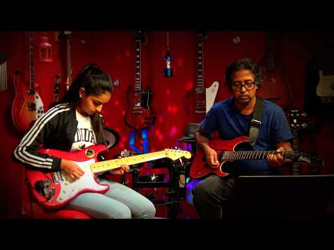 Yaar Indha Saalai Oram - Live Guitar Instrumental by Abi Bavan ft. Kumaran