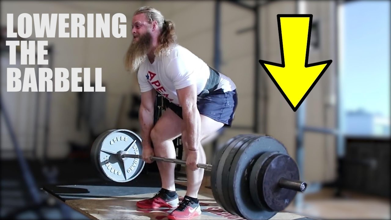 The Deadlift How To Lower The Barbell Youtube