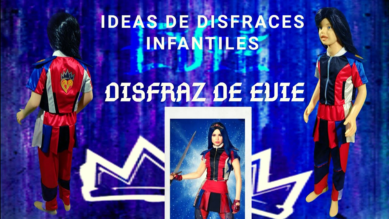 Disfraz De Evie De Descendientes 3 Ideas De Disfraces Infantiles Evie Descendants 3 Costume Youtube