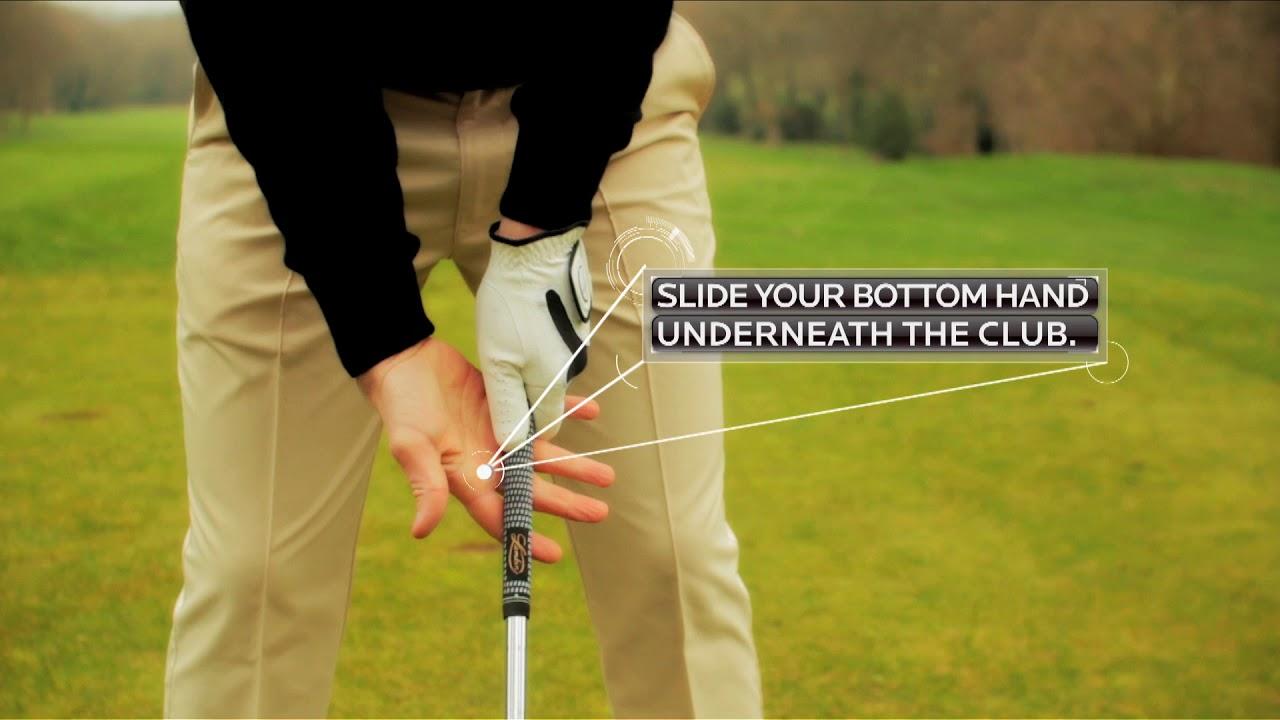 Proper golf grip - Bottom Hand Strengthening - YouTube