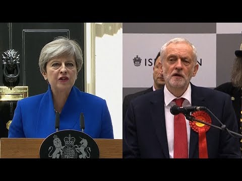 UK's Hung Parliament—Conservatives Lose Majority; Labour's Corbyn Delivers Stunning Rebuke of PM May
