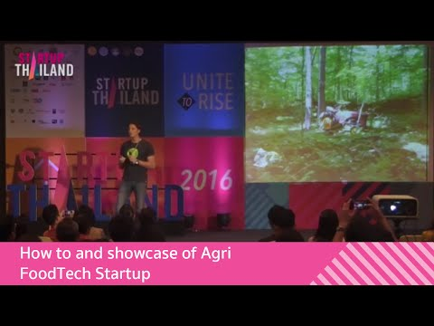 How to and showcase of Agri/FoodTech Startup