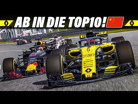 F1 2018 KARRIERE S02E03 – Punkte beim China GP? | Let's Play Formel 1 Deutsch Gameplay German