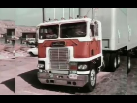 White-Freightliner WFT in Hijack! a.k.a. Rigjacker
