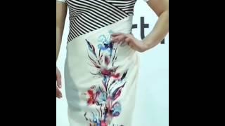 Презентация модели ArtRibbon 2516P1001 Платье