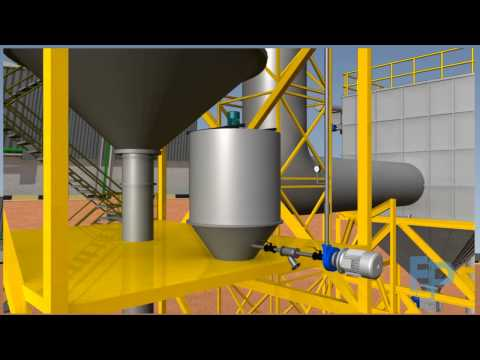 Spray Dryer Animation