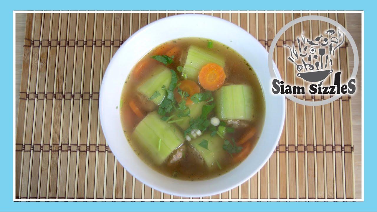 Cucumber Soup Thai