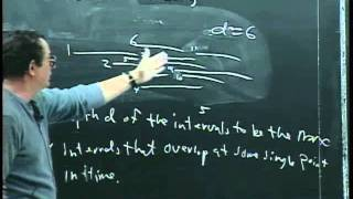 Greedy algorithms: The classroom scheduling problem