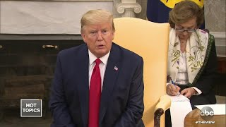 Trump's Angry Letter To Pelosi, Part 1 | The View