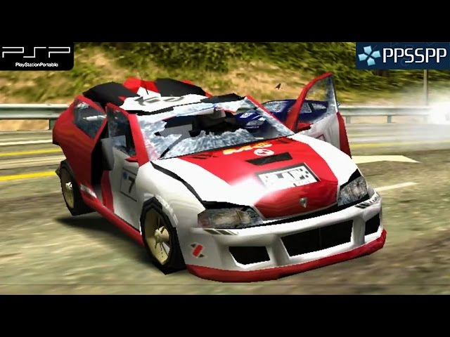 Burnout Legends - PSP Gameplay 1080p (PPSSPP)