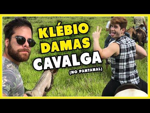 CAVALGANDO com KLEBIO DAMAS: PIRANHAS no PANTANAL- Põe Na Roda