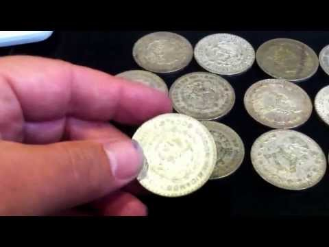 Un paso coin only 10 percent silver content  Mexican silver coins