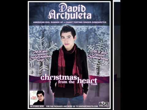 """David Archuleta """"Ave Maria"""" Sung in Spanis and Italian X-mas album W / Lyrics"""
