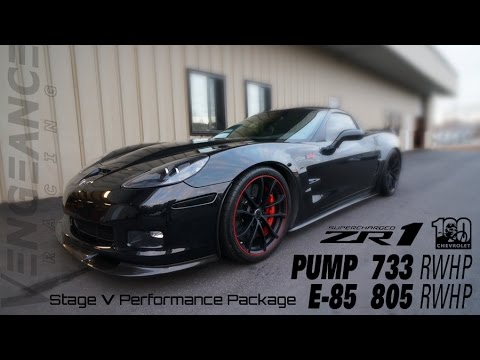 805 RWHP ZR1 - VR Stage 5 Performance Package - BUILD & DYNO