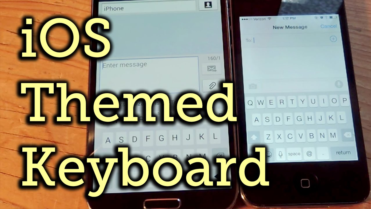 Make Your Google Keyboard Look Like an iPhone Keyboard - Android [How-To]