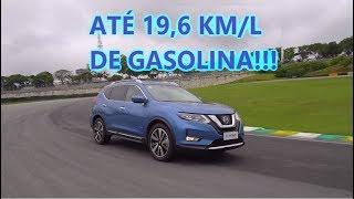 Andamos no Autódromo de Interlagos com o X-Trail, o SUV Híbrido da Nissan