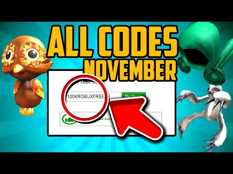 *NOVEMBER* ALL WORKING PROMO CODES ON ROBLOX 2019! New FREE ITEMS (ROBLOX PROMO CODE NOT EXPIRED)