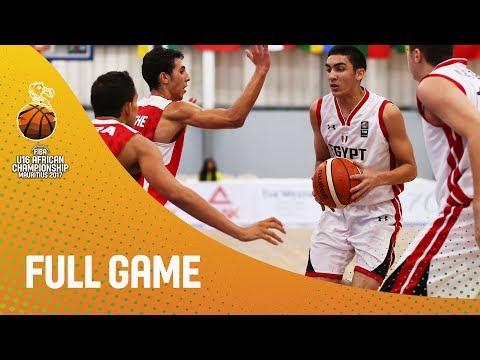 Egypt v Tunisia - Live - Semi-Finals - FIBA U16 African Championship 2017