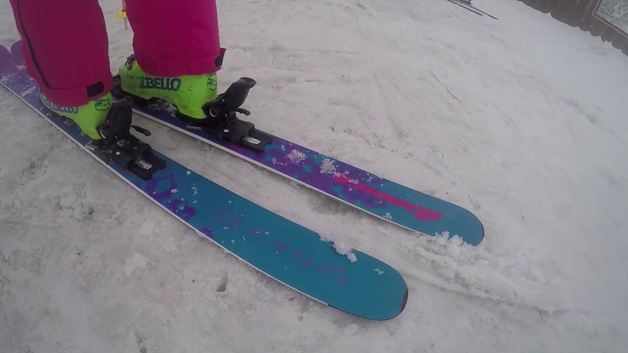 2018 Nordica Santa Ana 93 - SkiEssentials.com Ski Test - YouTube 3adaa1ac60c3