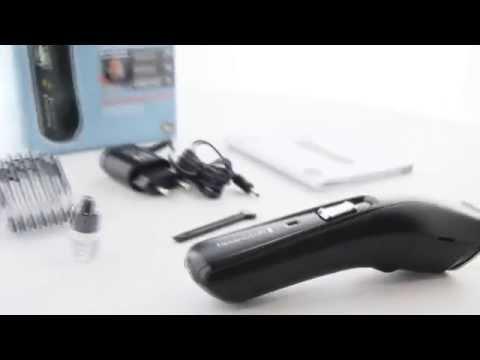 review remington k rperhaar trimmer hc5150 alpha haar doovi. Black Bedroom Furniture Sets. Home Design Ideas