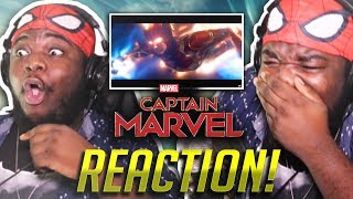 CAPTAIN MARVEL Official Trailer #2 (HD) : EPIC REACTION!!