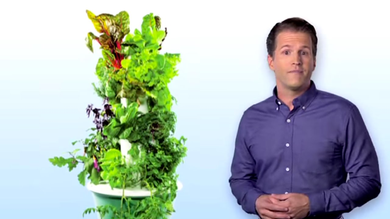 What Is Tower Garden® Vertical Aeroponic Growing System?