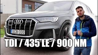 Búcsú az utolsó szuperdízeltől - Audi SQ7 TDI teszt
