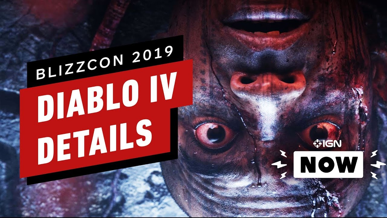 Diablo 4 Announced at BlizzCon 2019 - IGN Now