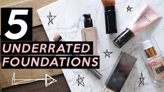 5 UNDERRATED FOUNDATIONS I LOVE | Jamie Paige