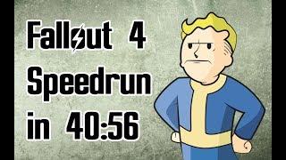 Fallout 4 Speedrun in 40:56 (World Record)