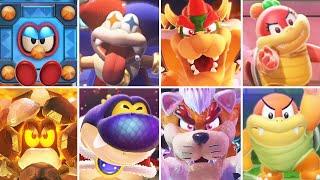 Super Mario 3D World - All Bosses
