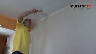 Usuwanie zacieków z sufitu - skuteczna metoda - DOMOWE SOS