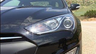 2013 Hyundai Genesis Coupe 0-60 MPH Drive & Review