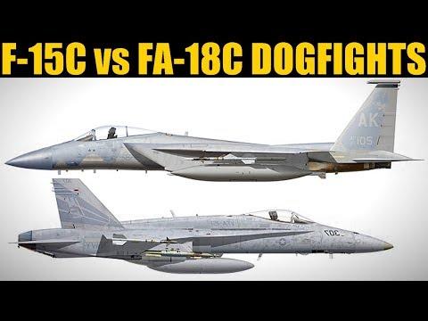 F-15C Vs FA-18C Dogfight Trials   10 Vs 10 PvP   DCS WORLD