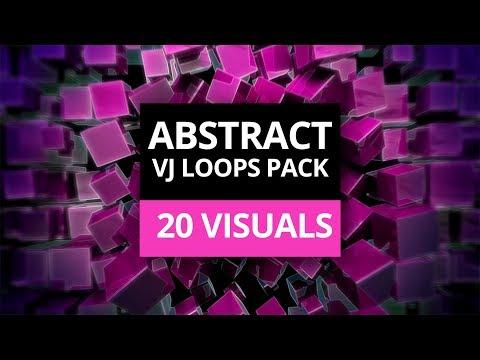 ABSTRACT - VJ Loops Visual Pack