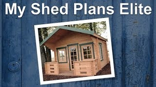 My Shed Plans Elite | Outdoor Storage Building