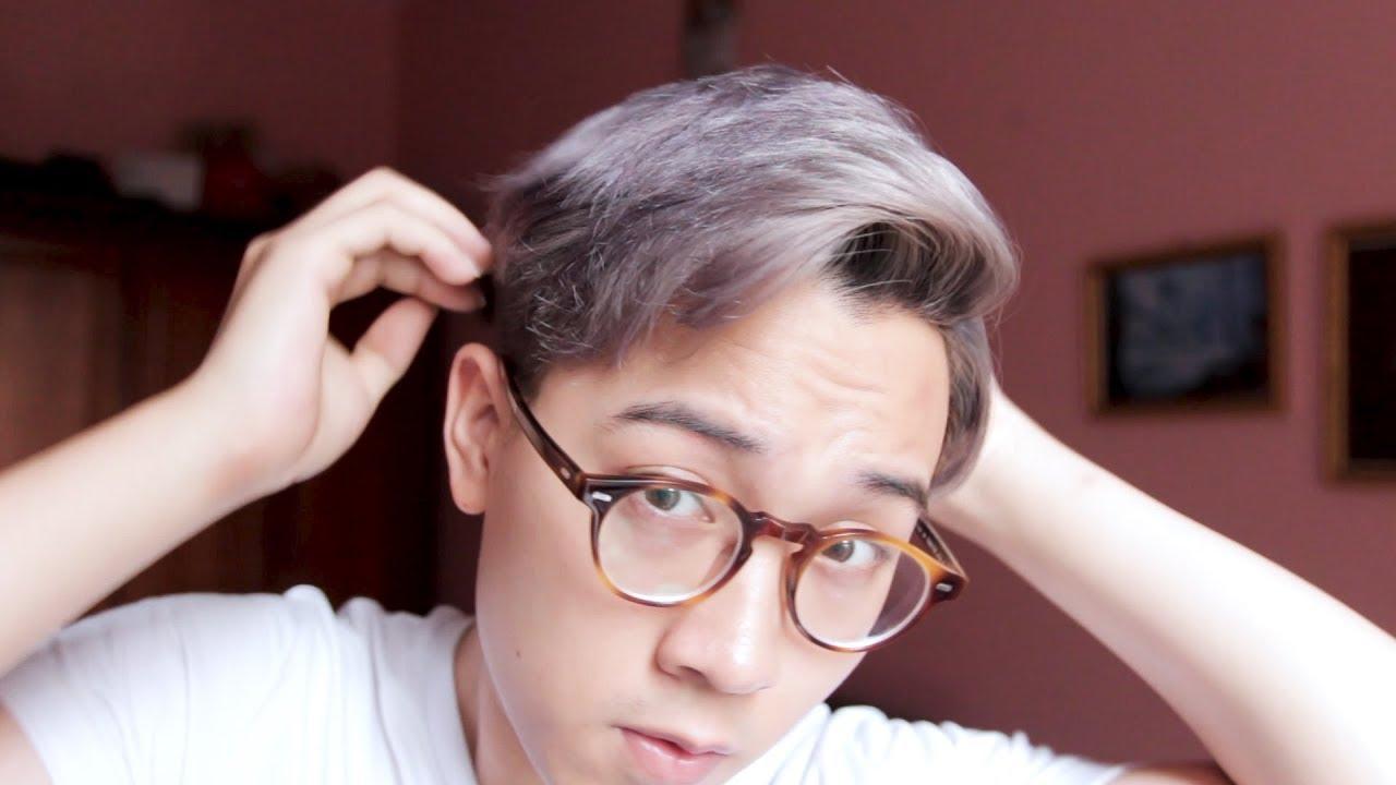 Nhuộm tóc màu BẠCH KIM – XÁM KHÓI cho nam 2018 ! ĐẸP hay TRẺ TRÂU? | Tổng quát những tài liệu liên quan màu tóc light đẹp mới cập nhật