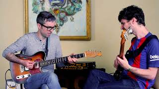 Michael League and Chris McQueen (Snarky Puppy) getting funky