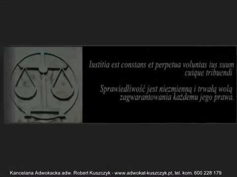 Adwokat Warszawa, prawnik - Robert Kuszczyk  600 228 179