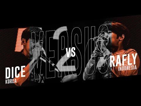 Dice (KR) vs Rafly (ID) |Asia Beatbox Championship 2018 Solo Elimination