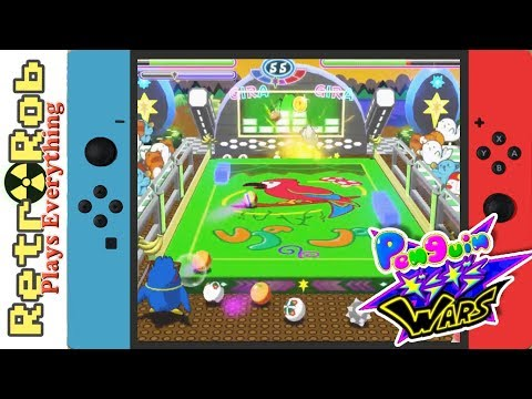Penguin Wars for Nintendo Switch Thoughts and Gameplay