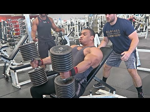 Heaviest Dumbbell Press Of All Time