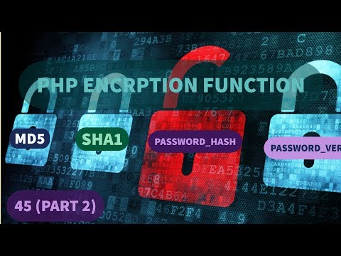 45 Encryption or Cryptography algorithms in PHP - part 2