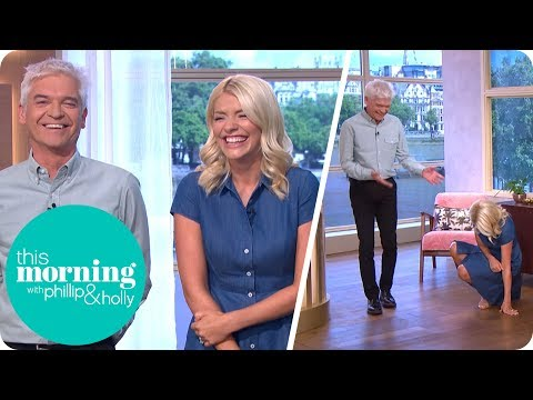 Holly Gets the Giggles! | This Morning