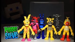 FNAF Five Nights at Freddy's BOOTLEG Cheapo Figures TOY Fake Jumpscare Robot Fnaf 1